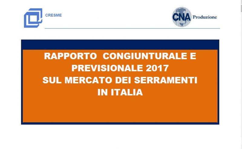 Mercato dei serramenti in Italia. Il Rapporto Cresme 2017 offre il quadro