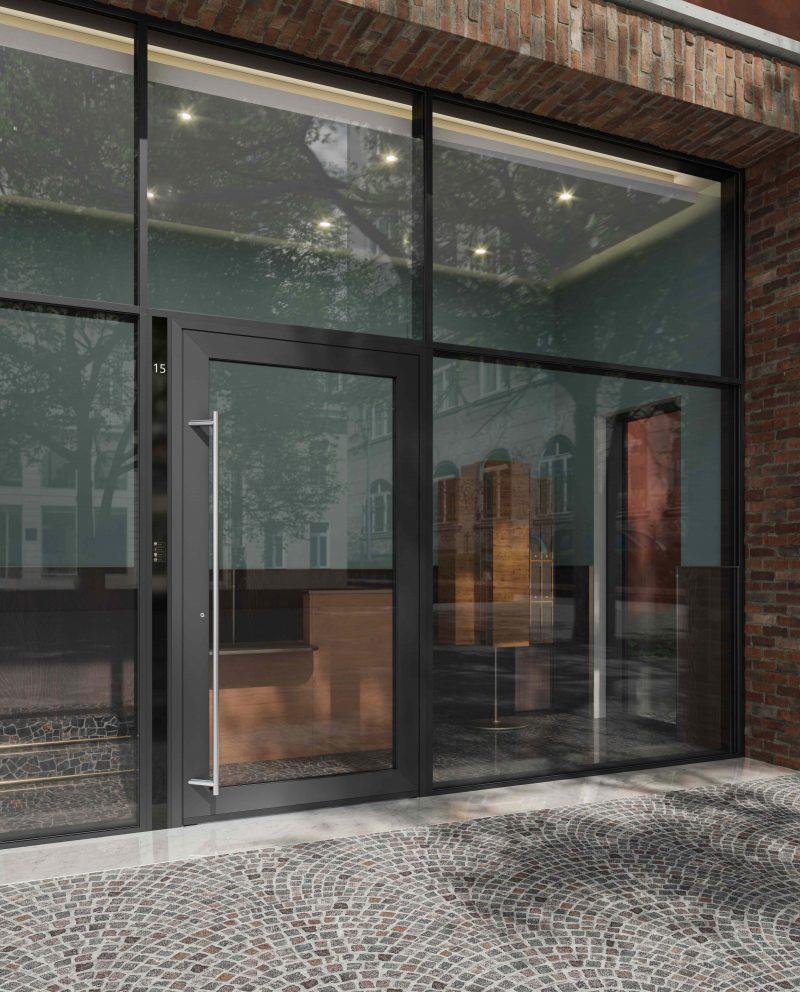 Nuove porte in alluminio Schüco AD UP (Aluminium Door Universal Platform).