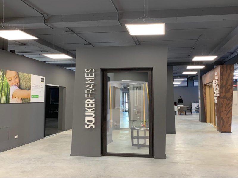 Retail in espansione per Sciuker Frames nel nuovo showroom di Pontina Infissi