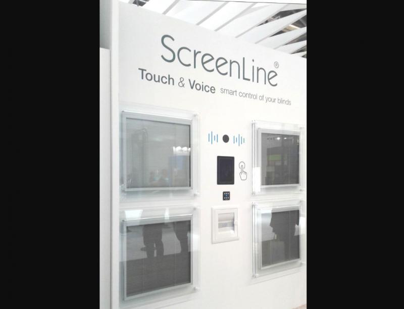 Tende motorizzate Screenline, ora comandabili a voce. Anche con Alexa Amazon
