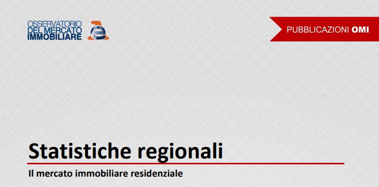 Mercato immobiliare regionale. Dall'Agenzia i report 2018