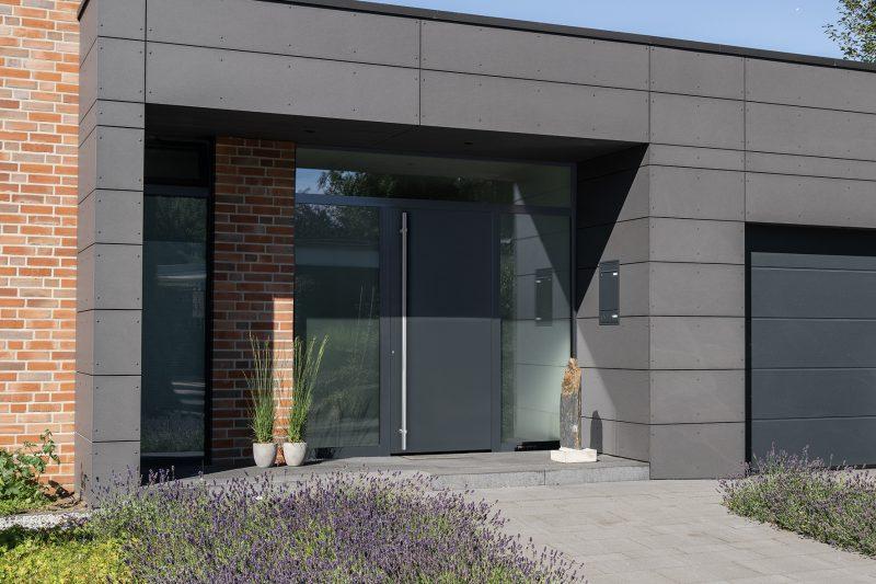 Nuova porta d'ingresso ThermoPlan Hybrid Hörmann:  eleganza esclusiva per il settore porte d'ingresso.