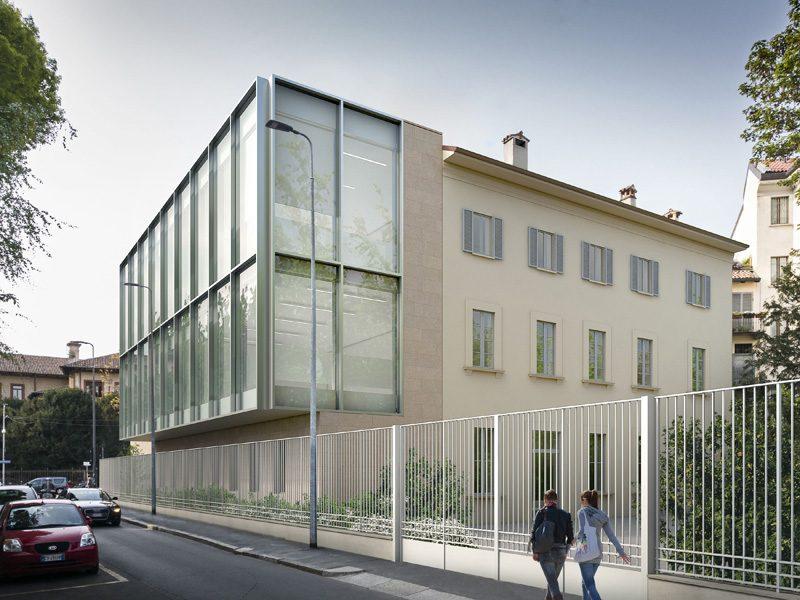 Università Cattolica a Milano: vetro e metallo per l'ampliamento