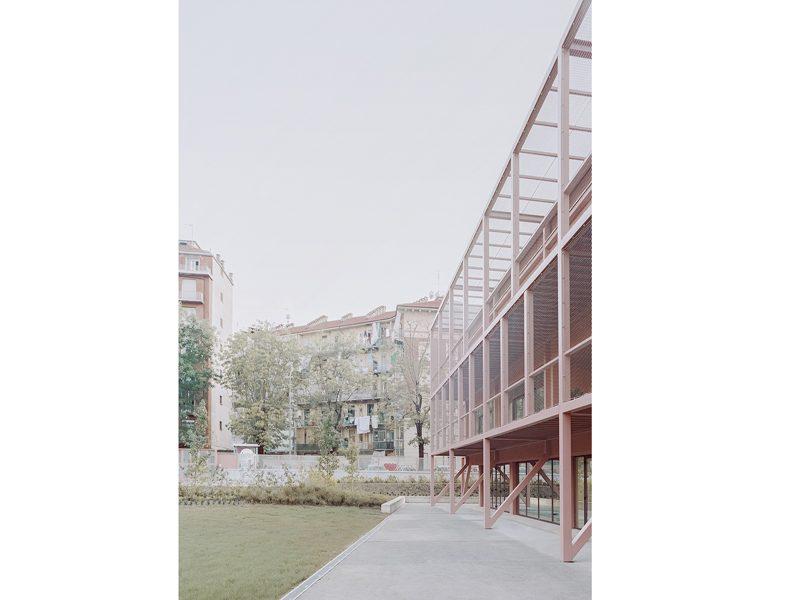 Grandi vetrate per la scuola Fermi a Torino