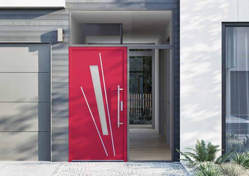 Porte di ingresso. Da Vetrex le Porte Ibride