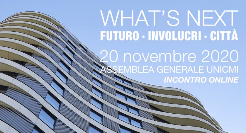 Unicmi. Incontro online sul futuro di città e involucri