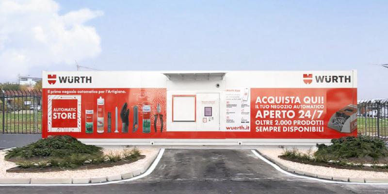 Primo negozio automatizzato Würth aperto a Verona