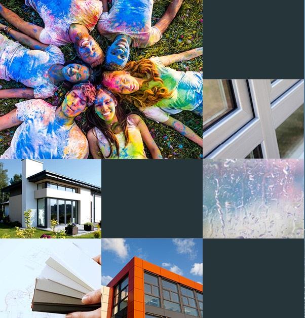Acrylcolor e finestre in pvc, la proposta di Gealan