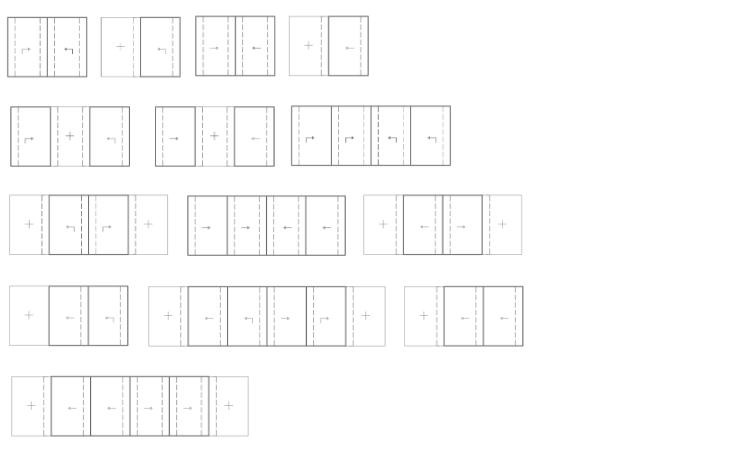 Aperture serramenti scorrevoli Euroline 145 SE Gastaldello Sistemi