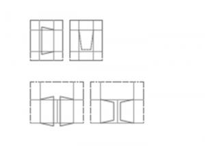 Aperture soluzioni per facciata 50FB/60FB Gastaldello Sistemi