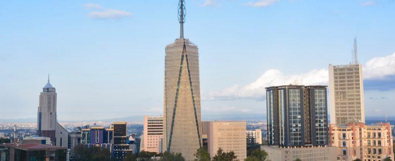 Britam Tower, Nairobi, con accessori per serramenti Master