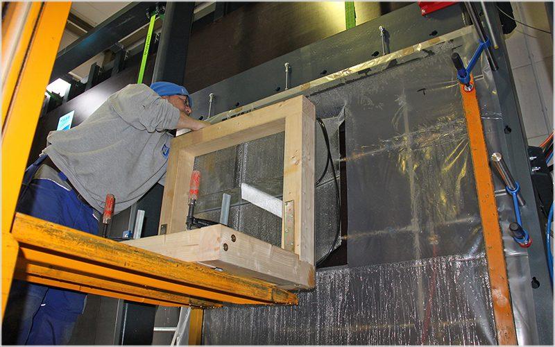 NAFS presso ift Rosenheim per test su serramenti validi in Nord America