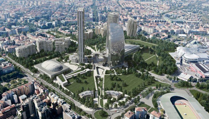 A Focchi l'involucro della terza Torre a CityLife