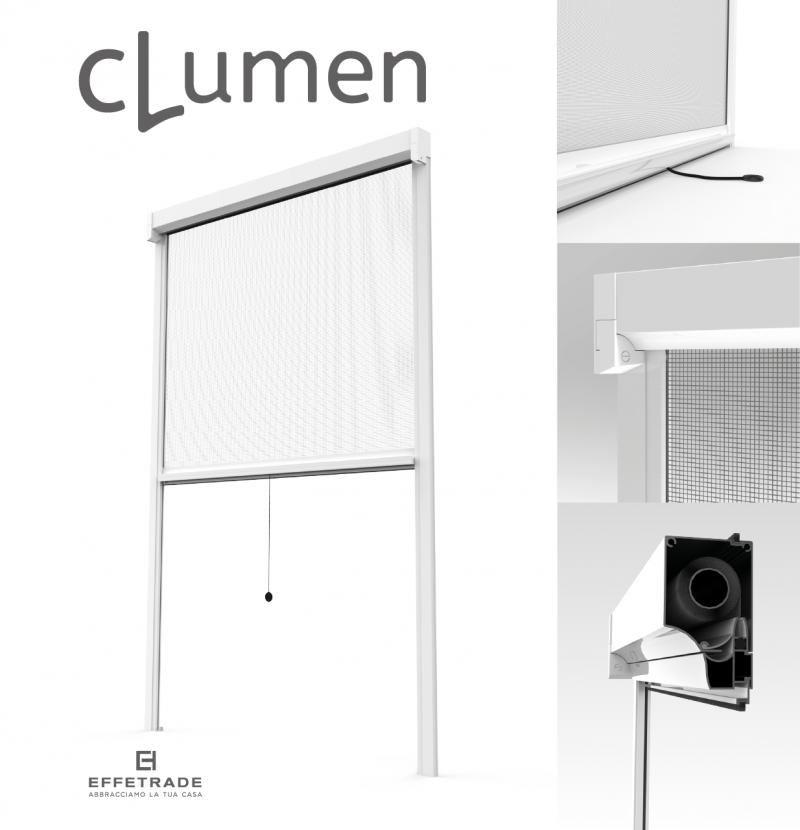 Effe Trade – Clumen. La zanzariera verticale
