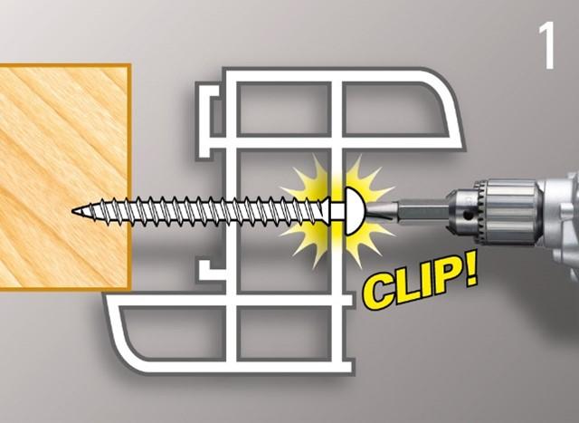 Framex Clip risolve esigenze di regolazione del serramento