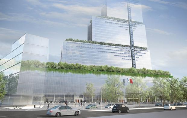 Architetture trasparenti a Parigi: pronto il nuovo Palazzo di giustizia di Renzo Piano