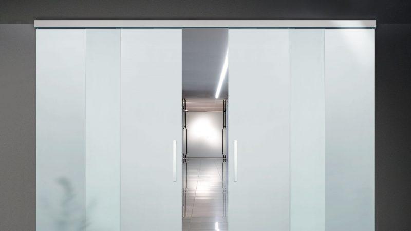 Serramentour e porte vetrate: sistema scorrevole Slim della Oxidal