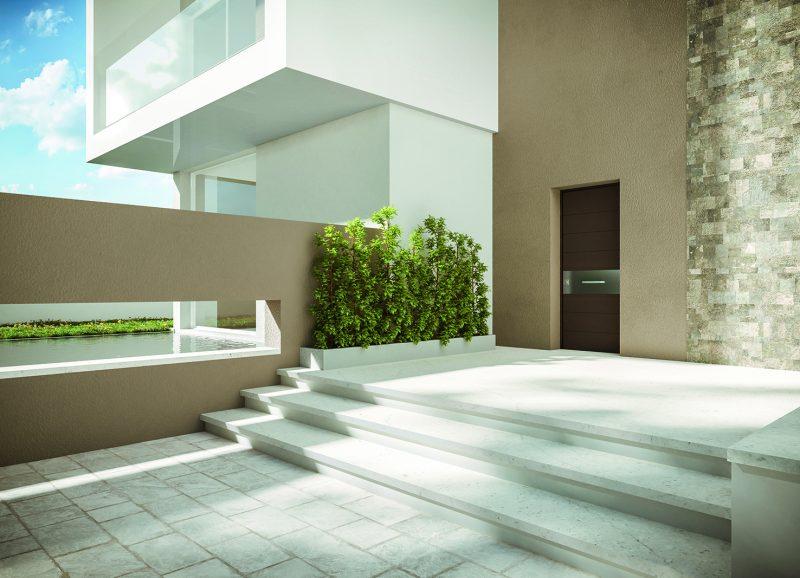 Svevo, la porta blindata accessibile, elegante e sicura