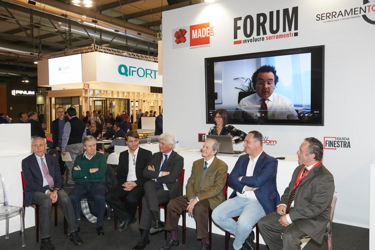 Forum Involucro Serramenti al secondo giorno di MADE expo