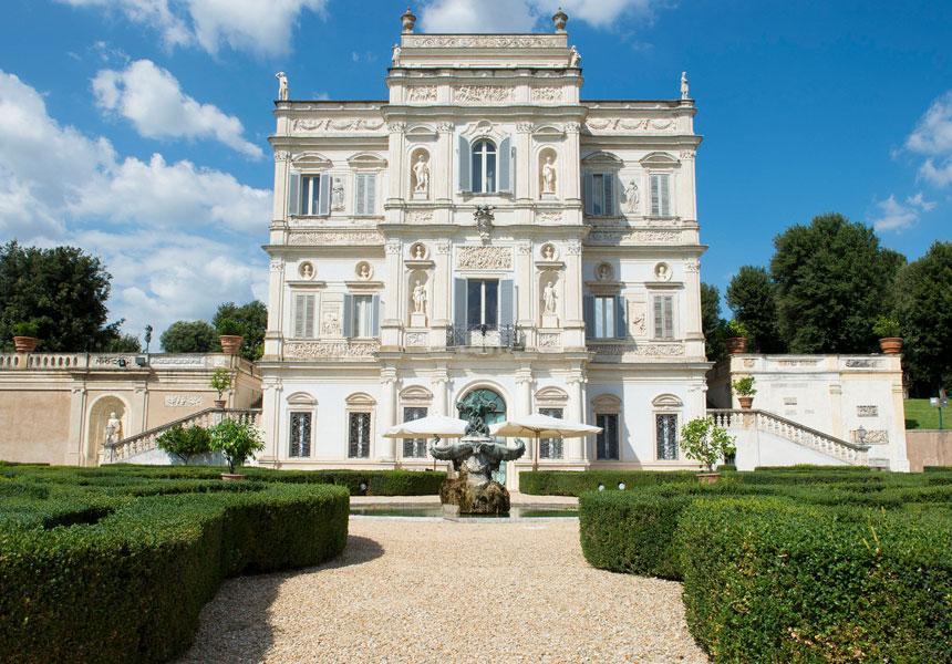 Finco a Villa Pamphilj